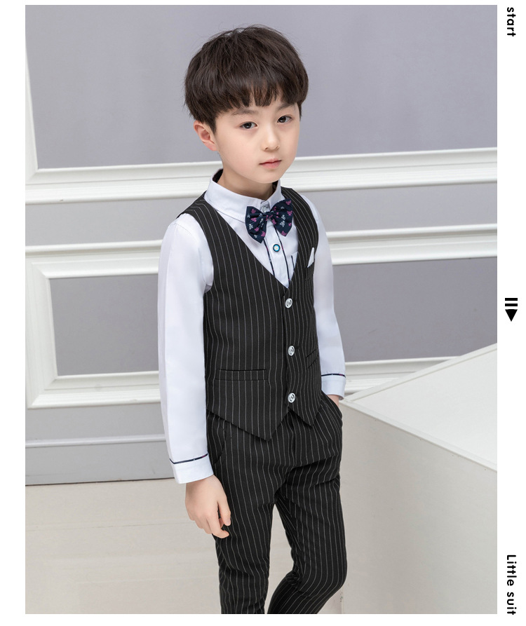 2019 the new boy virgin suit manufacturer wholesale children suit boys clothing Fashion boy clothes Regular boys suitsALI 288 in Clothing Sets from Mother Kids