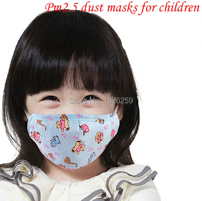 5 Cotton Kpop Dust Cute Pm2 Filter Linen Mask Surgical New