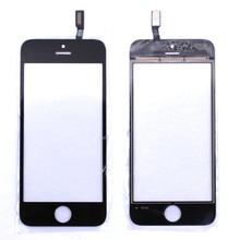 Черный Белый Передняя Стеклянная Линза + Сенсорный Экран Digitizer Для iPhone 6 Plus Замена для ЖК-Экран Мобильного Телефона Чехол