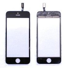 Черный Белый Передняя Стеклянная Линза + Сенсорный Экран Digitizer Для iPhone 6 Замена для ЖК-Экран Мобильного Телефона Чехол