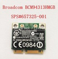 Original Broadcom BCM4313 BCM20702 BCM94313HMGB metade Mini PCI-E placa Wireless 802.11b/g/n Wi-fi 4.0 Bluetooth Combinação