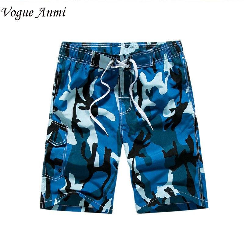 Vogue Anmi 2017 quick drying   Board     Shorts  ,trunks mens Boardshorts Print Beach   short  /bermuda masculina de marca homme   shorts