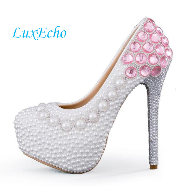 White Beaded Shoes