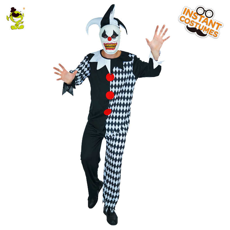 Detail Feedback Questions About Men S Evil Jester Clown Costume