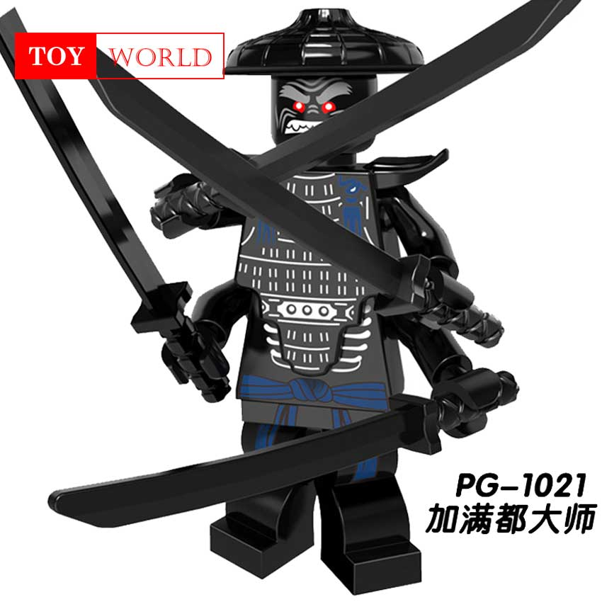 Hot Ninja Kai Jay Zane Cole Lloyd Carmadon Compatible With LegoINGlys Ninjagoes figures Building Block Toys for kids gifts zk5 1