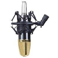 HFES miniphone Shock Mount 50 мм для 48 мм-54 мм Диаметр конденсаторный микрофон черный
