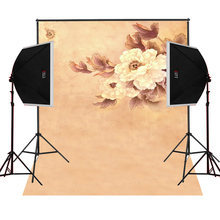 Flower outskirts scenic for kids photos camera fotografica studio vinyl photography background backdrop cloth digital props(China)