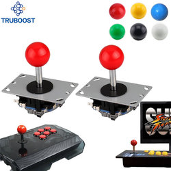 2 stücke Arcade joystick DIY Joystick Red Ball 8 Weg Joystick Fighting Stick Teile für Spiel Arcade