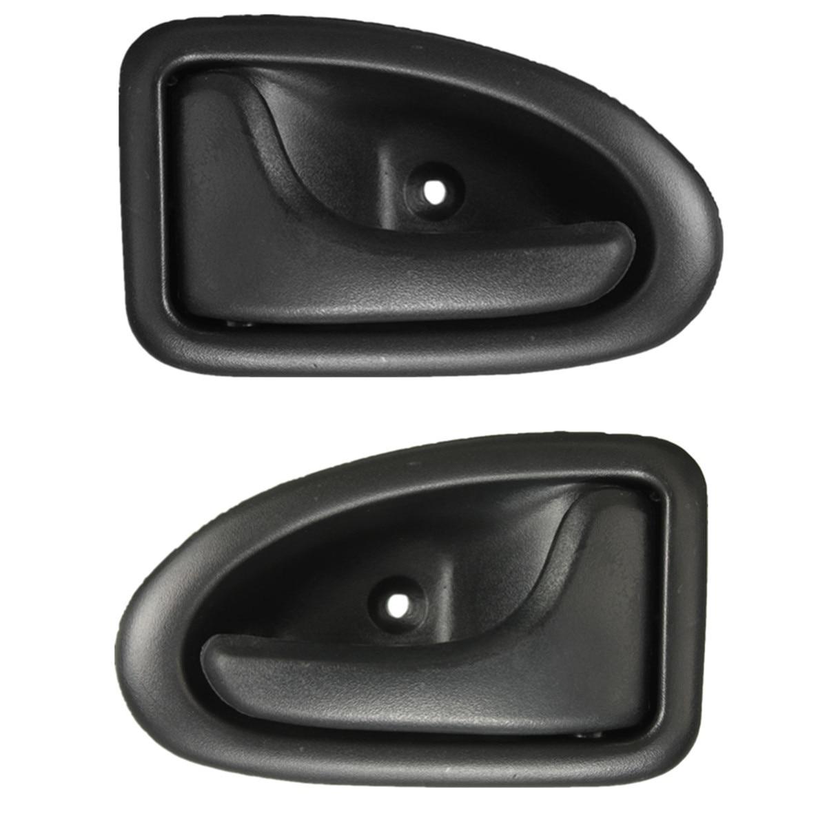 Left Exterior Door Handles Replacement,Left Right Door Handle Inner Door Support Bracket Passenger Side Door Panel Handle,Door Handle Repair Kit for Re/_Nault Clio Megane Sceni