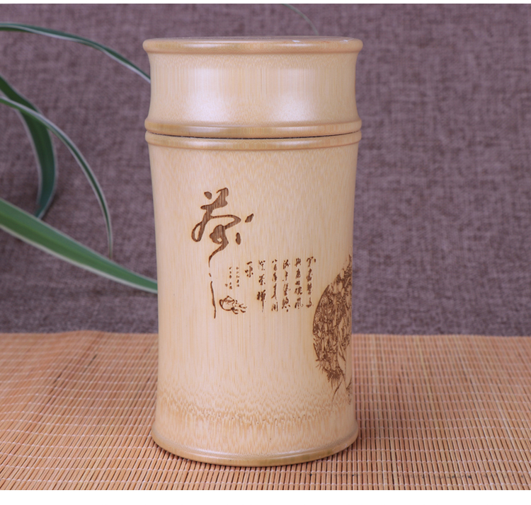 Bamboo Tea Container [Tea Storage]
