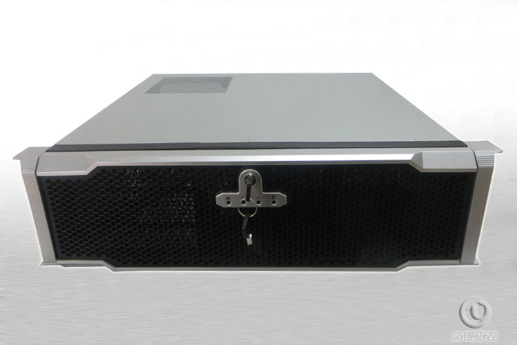 3U380 computer case  belt butterfly lock USB3.0 3u rack server computer case new 3u ultra short 3u computer case 380 3u industrial computer case 7 hard drive aluminum panel