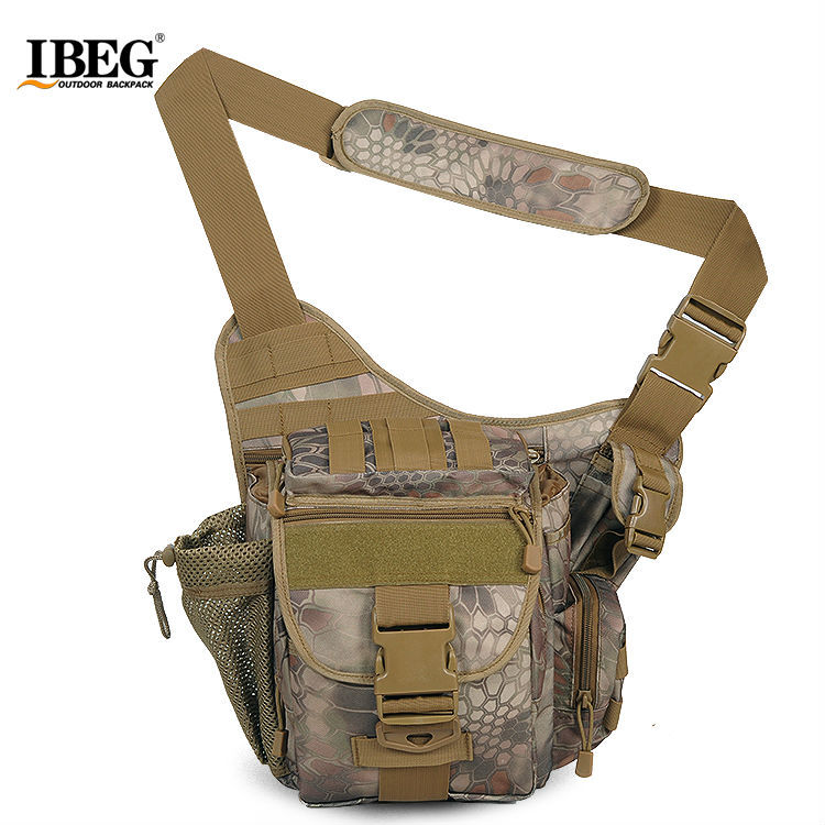 Outdoor Tactical Saddle Bag Men Messenger Cross Body Bag Ridding Fishing 600d Military Tactical Backpack Camera Shoulder Bag Camping & Hiking