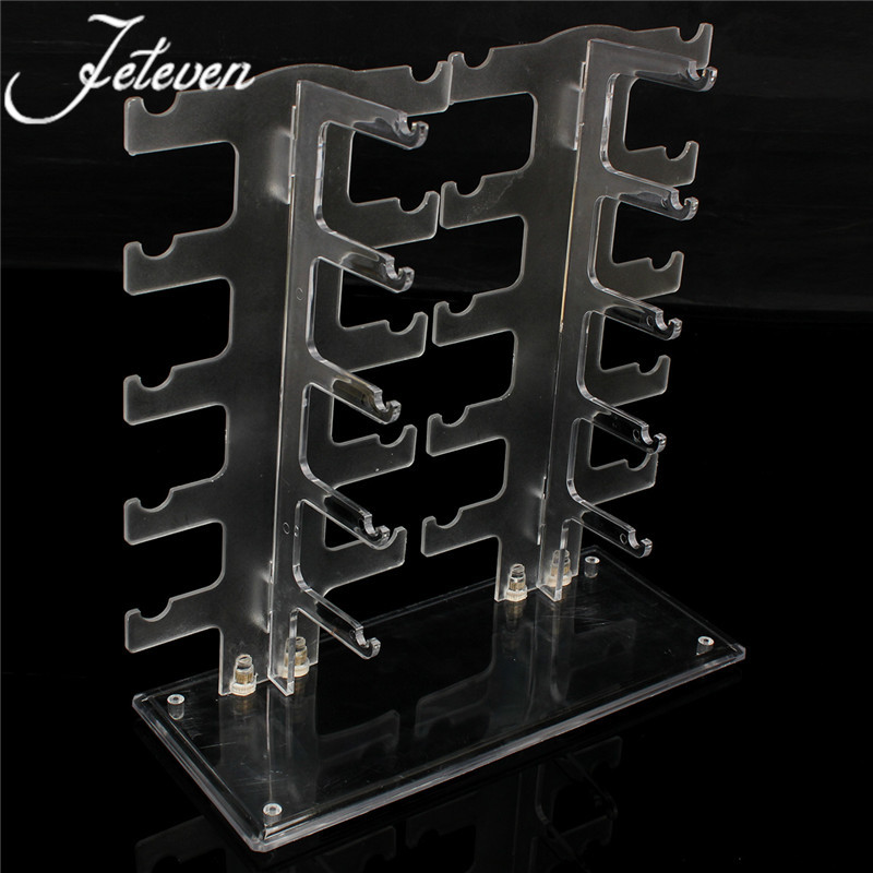 5 Layers Glasses Sunglasses Display Stand Holder Clear Acrylic ...