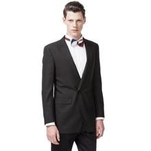 Custom men's suits black groom suit formal occasions custom men's tail dress suit + pants
