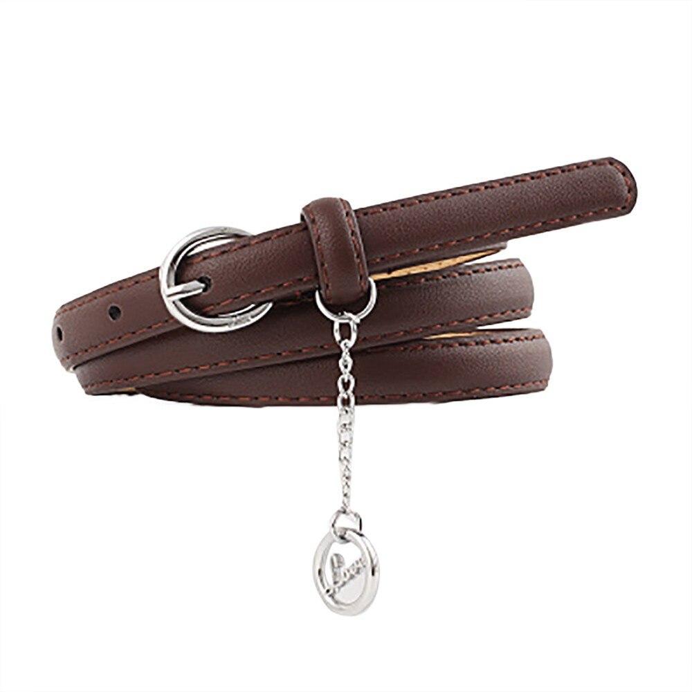 Belt   For Women Girls Fashion Vintage Accessorie Letter Pendant Casual   Belt   Thin Elastic Waistbands 2019 Jeans Dress Accessories