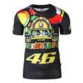 Valentino Rossi GP V46 T-shirt Motocross Racing Motocicleta Motor de La Bicicleta de SECADO RÁPIDO Camisa de Fuerza VR 46 T shirt Tee