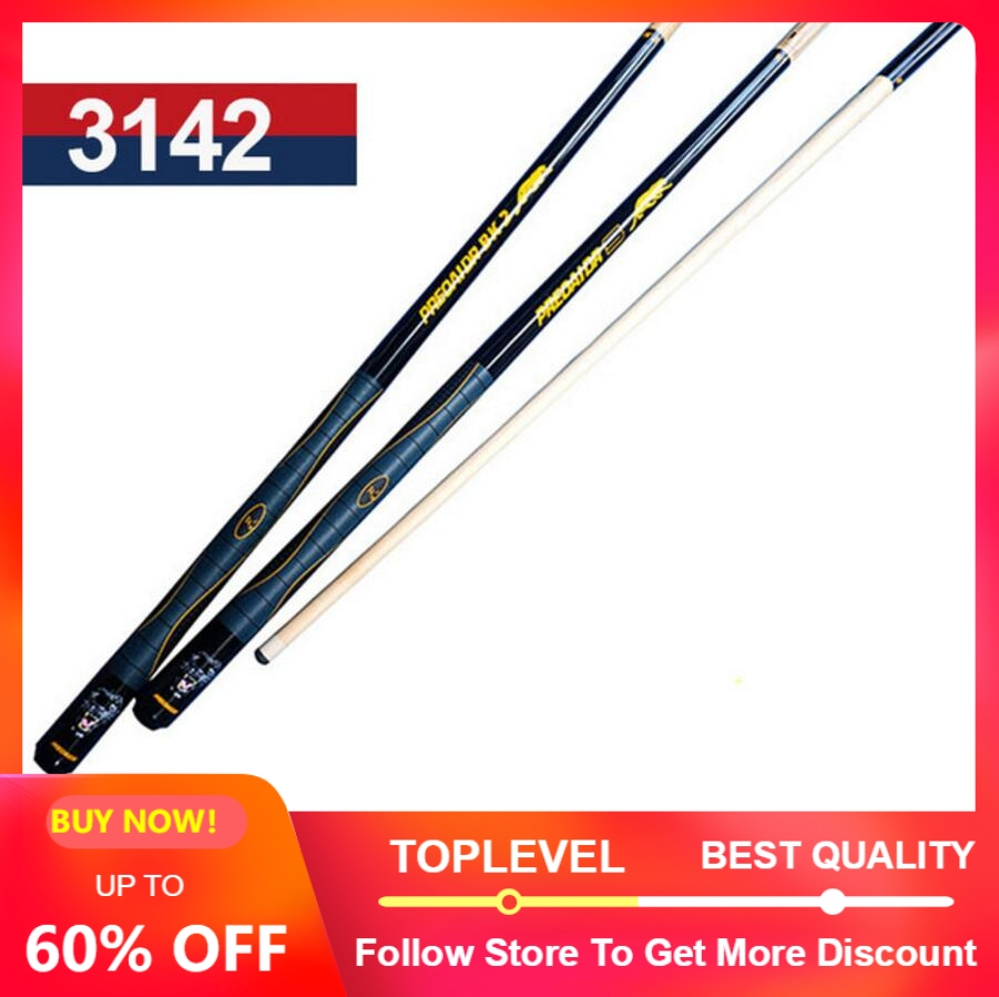 PREOAIDR 3142 High Quality Billiard Pool Cue 13mm Tip 1 2 Pool Cue Stick Kit Durable