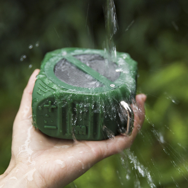 HAOBA TWS waterproof bluetooth speaker outdoor portable mini computer mobile phone wireless with subwoofer