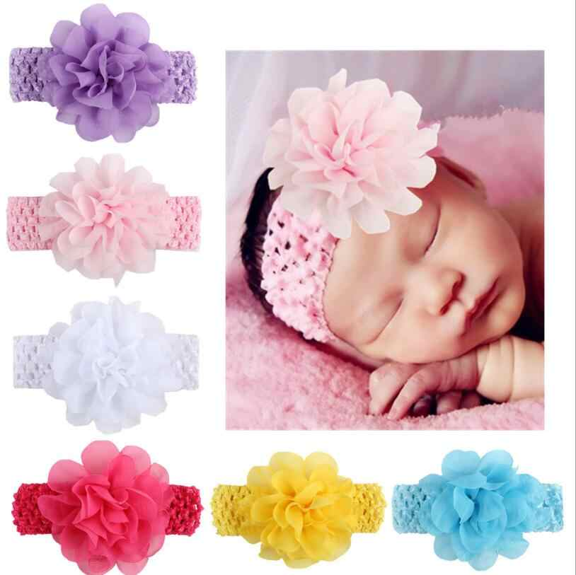 1 Piece MAYA STEPAN Headwrap Lace Baby Headbands Headwear Girls Hair How Out Hairband Head Band Infant Newborn knitting