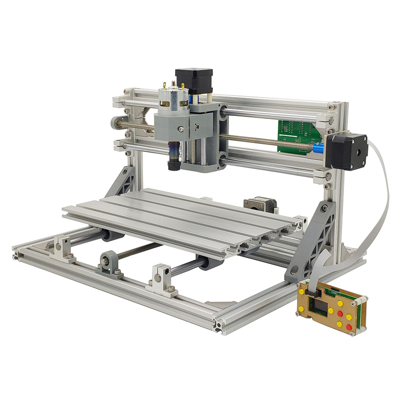 Mini 3018 Laser Engraving CNC Machine With 1GB TF Memory Card for Wood PCB PVC 4