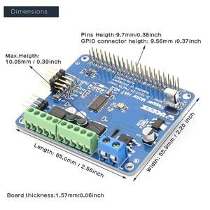 Image 2 - Raspberry Pi 4 Motor HAT Full function Robot Expansion Board for Raspberry Pi 4/Pi 3B+/3B (Stepper / Motor / Servo/ IR Remote)