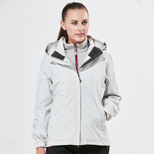 Winter waterproof Two-pieces Ski jacket women black color snowboard jacket snow jackets outdoor coat women hiking jacket