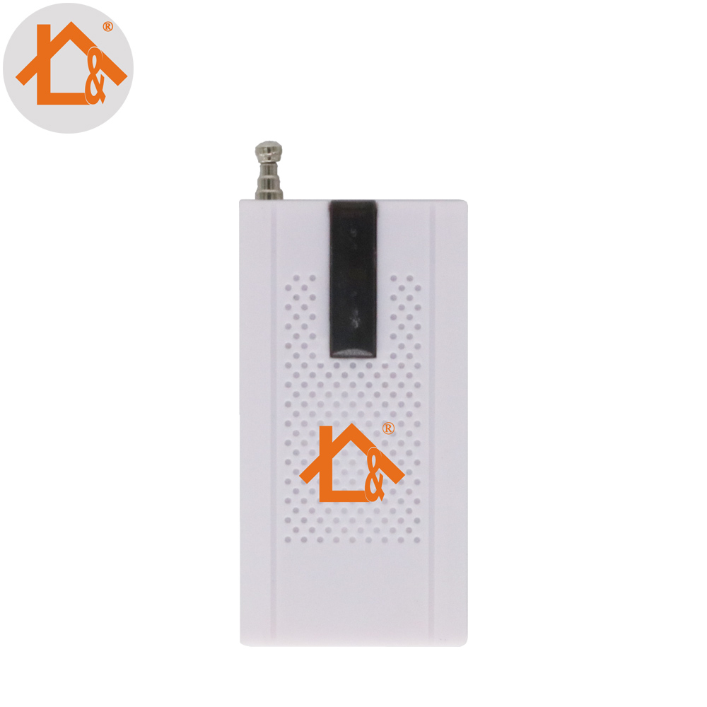 1pcs Wireless Door Window Vibration Detector External Antenna Shock Sensor Work For GSM PSTN SMS Home Burglar Security Alarm