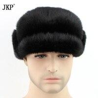 winter hot super show men rex mink fur earmuffs luxur muffs style russian cap male autumn handsome fur hat fur cap ZD 08