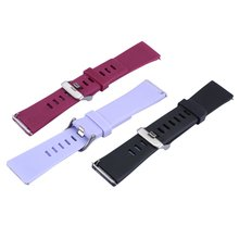 3Pcs Colors Fashion Design Watch Band Sports Silicone Fitness Strap For Fitbit Versa Smart Accessories Wristband