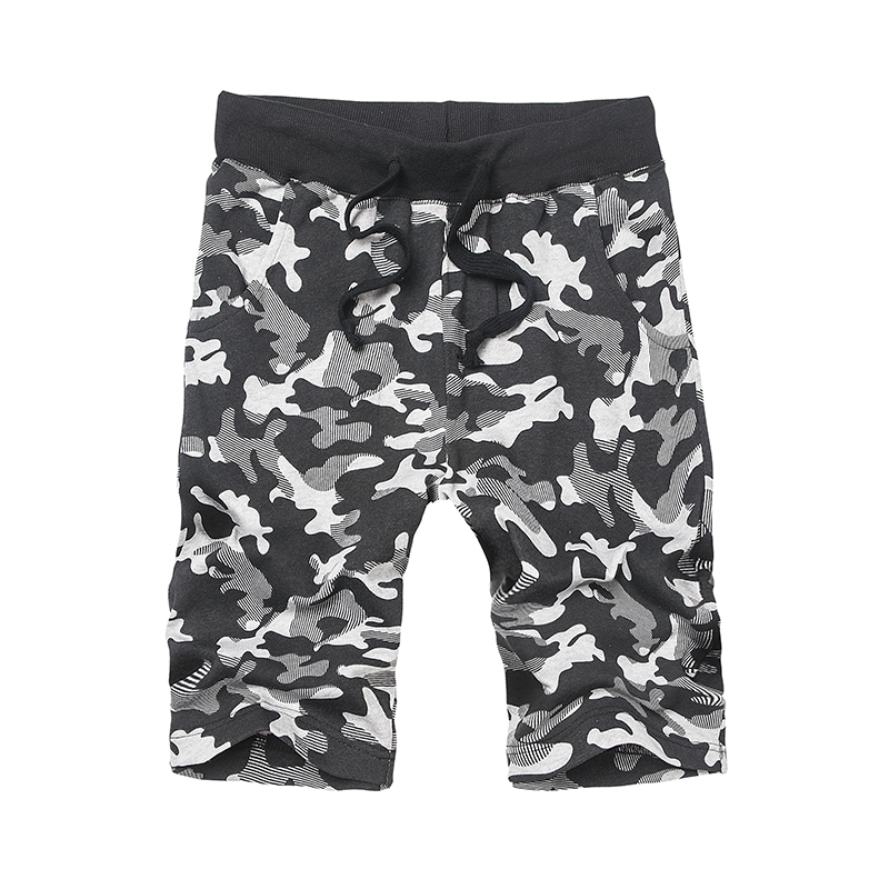2019 Summer Cotton Shorts Loose Mens Casual Shorts Camouflage Elastic Waist Comfortable Camo Men Cargo Short Pants Plus Size 8XL