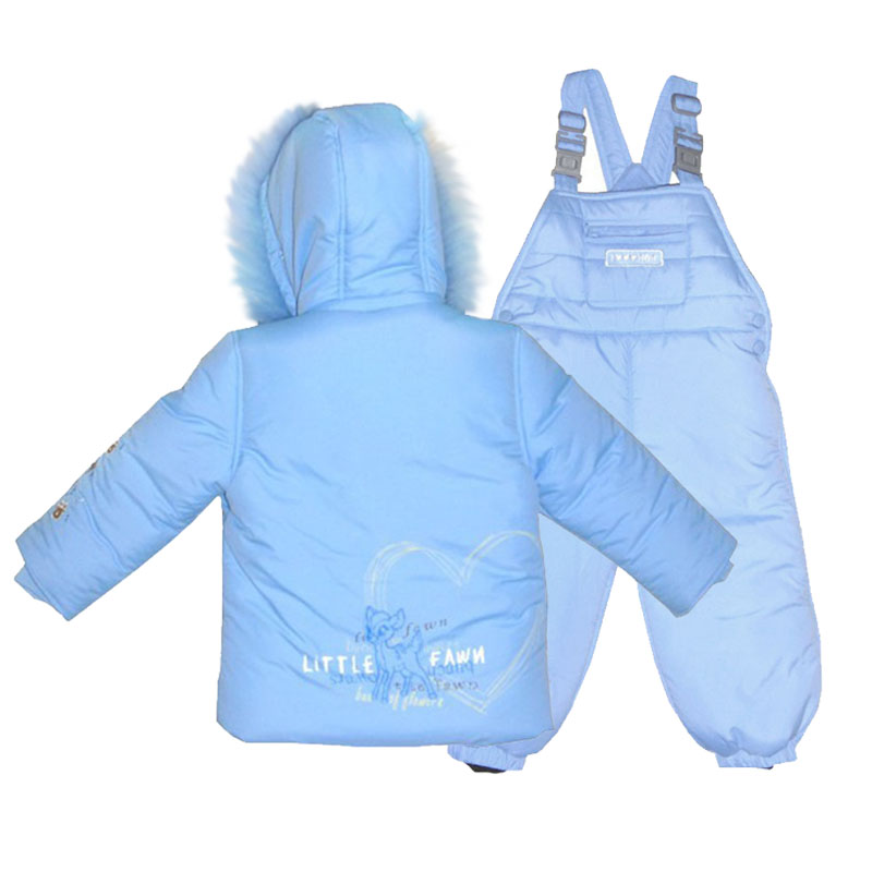 Baby Jacket Suit for a Newborn Baby Down Jacket and Bib for Boys Girls High-quality Fashionable Kids Jacket Natural Fox 1302 good quality and fast delivery baby activity product strollers for twin suit for 0 36 months baby boys and girls many colors