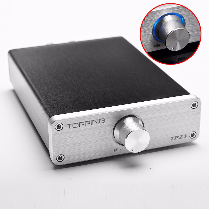 TOPPING TP23 automatic USB power amplifier PCM2704, built-in USB decoder, TA2021B UDA1351TS USB DAC audio amplifier DC14V topping tp30 mark2 usb dac decoder earphone amp 2x15w ta2024 digital power headphone amplifier