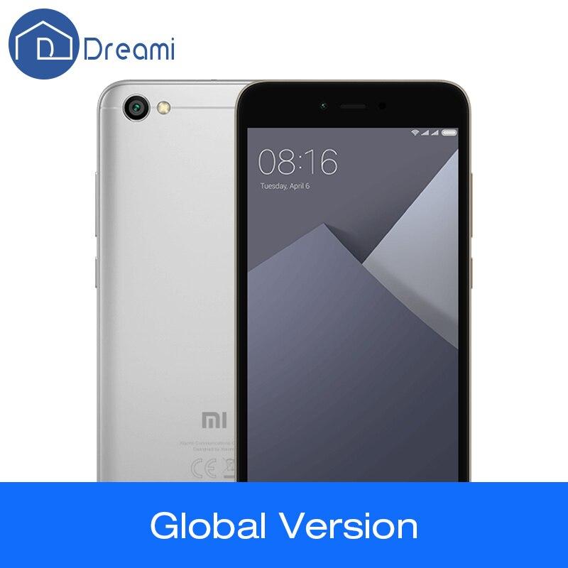 Global Version Dreami Original Xiaomi Redmi Note 5A 2GB 16GB Quad Core 5.5 Inch 13MP Snapdragon 425 FDD-LTE 2+1 Card Slot