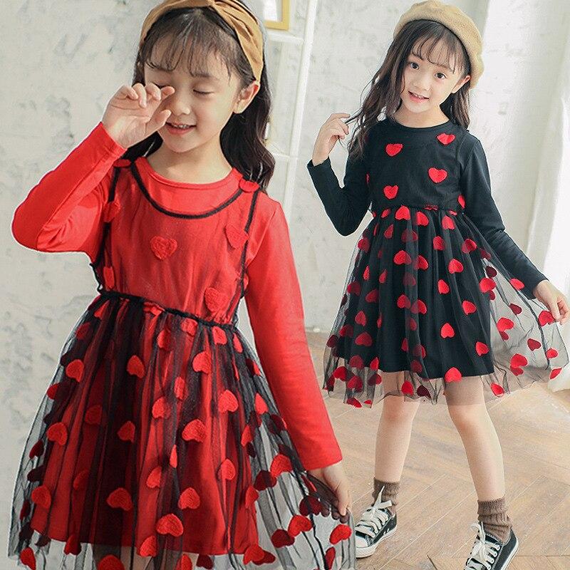 c046f9f151be4 US $24.33 45% OFF|Aliexpress.com : Buy Girls Dresses 2018 Autumn Princess  Dress Casual Long Sleeve Cute Teenager Elegant Dresses 6 8 10 11 12 13 14  ...