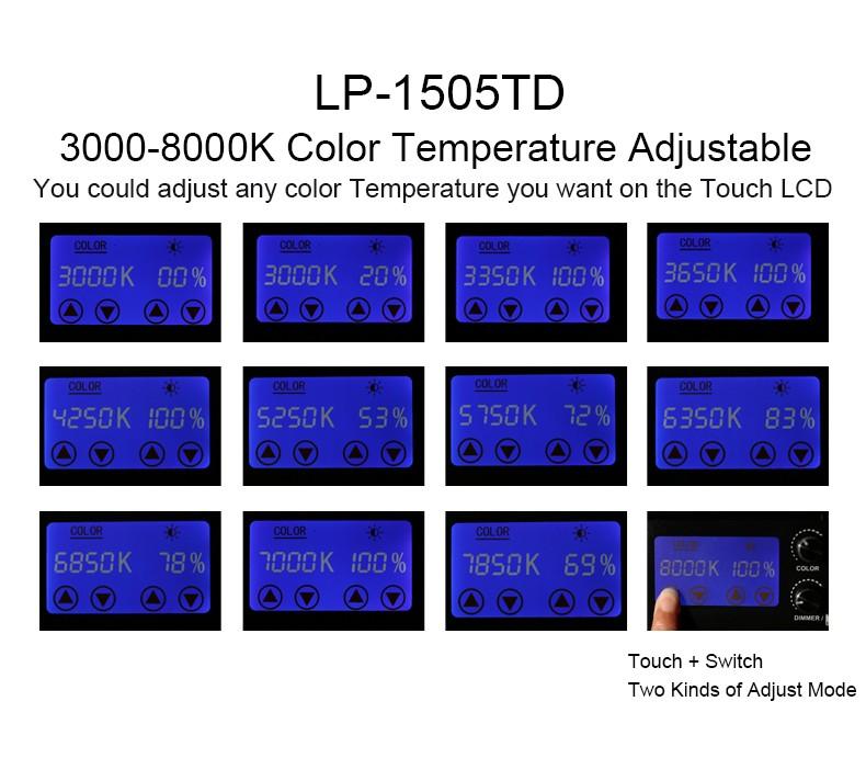 Falcon Eyes LP-2805TD 140W Video Light 2LP-600TD 36W 14000LM LED Video Photo Light Set with Alluminum Case LP-2005TD 200pcs LEDs 100W LED Panel Light