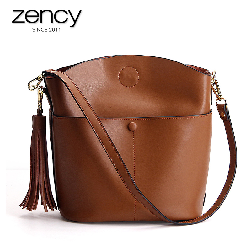 цены  Fashion Brand Women Messenger Bags High Quality Tassel Split Leather Handbags Shoulder Bag Crossbody For Girl Bolsas Femininas