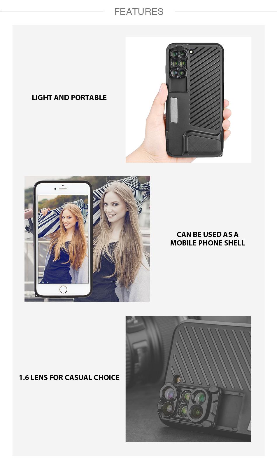 lentille iPhone téléphone téléobjectif 2