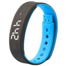 Новый Продажа Смарт метр индикатор зарядки студент будильник спорт Цифровые электронные часы ребенок девушка кольцо руки мужчины Женщины Наручные Часы