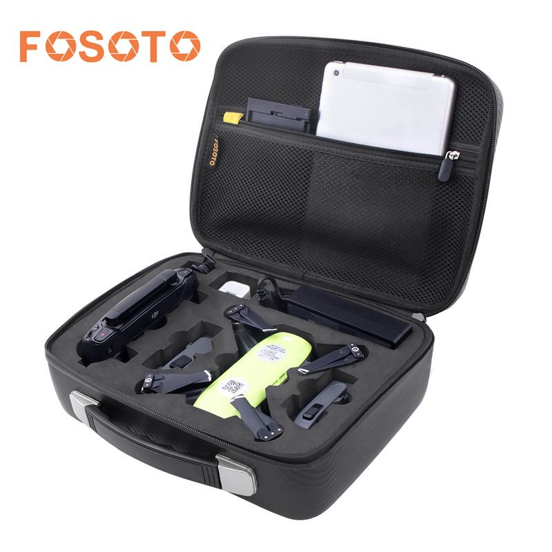 fosoto Waterproof EVA Hard Storage Bag Carry Case Box for DJI Spark Drone and All Accessories Portable DJI Spark Bags