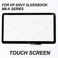 for Hp Envy Sleekbook M6 K series M6 K125DX M6 K015DX M6 K022DX M6 K025DX Touch Screen Digitizer panel touchsmart glass keyboard