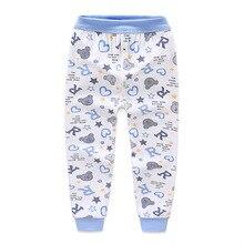 От 2 до 10 лет, детский Пижамный костюм пижама ночная рубашка для мальчиков Одежда для маленьких мальчиков детские пижамы Домашний спортивный костюм Длинные мужские кальсоны