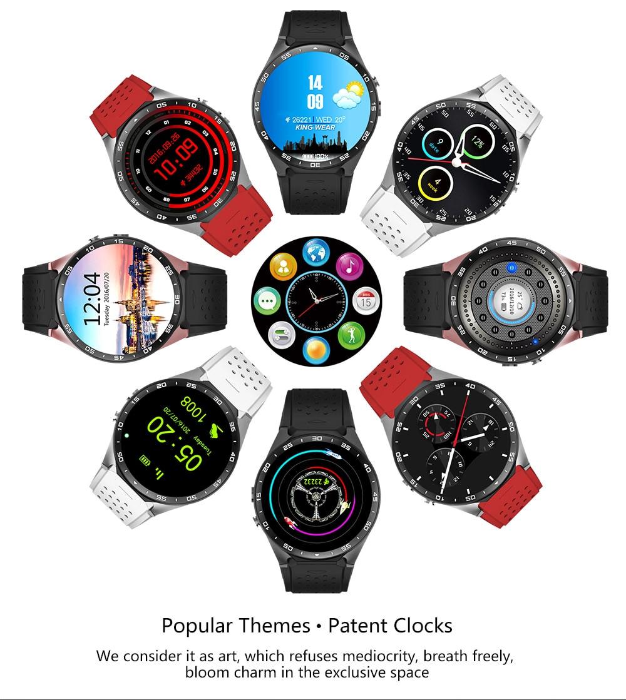 Kaimorui KW88 Smart Watch Android/ IOS Kaimorui KW88 Smart Watch Android/ IOS HTB1P8t1SFXXXXcqXXXXq6xXFXXXM