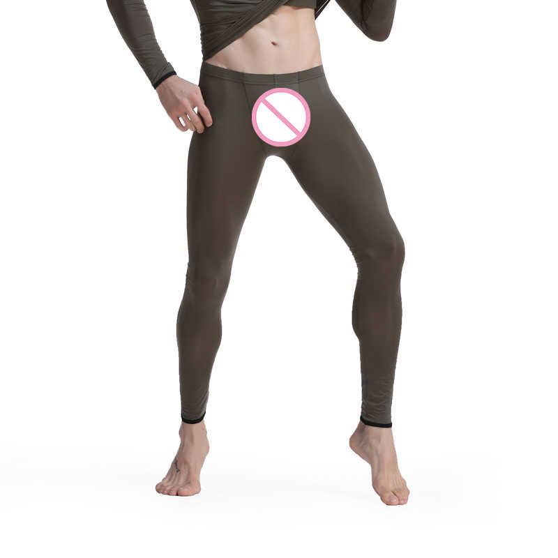 a13ae784fe Winter Warm Gay Men Long Johns Ice Silk Thermal Underwear Men Thermo  Underwear Long Johns Men