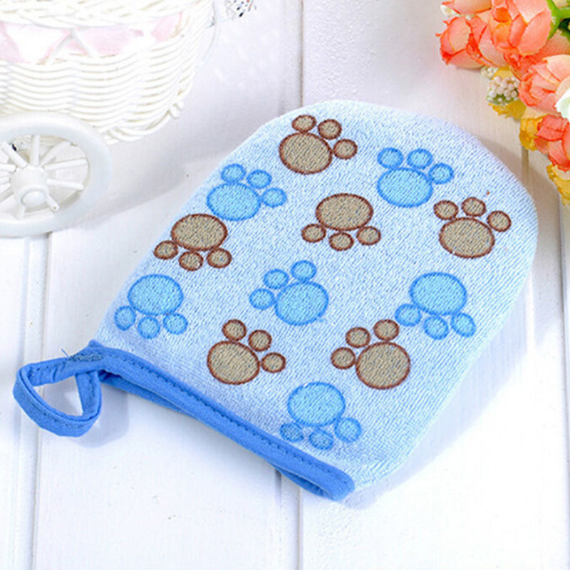 3 Colors New Arrival Cute Baby Bath Sponge Cartoon Super Soft Cotton Brush Rubbing Towel Ball