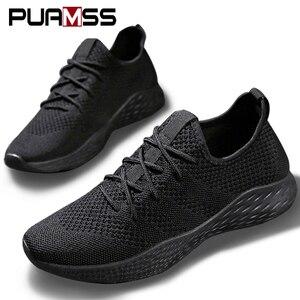 Image 1 - 2019 New Men Casual Shoes Lightweight Mesh Breathable Comfortable Men Shoes Fashion Male Sneakers Zapatos De Hombre