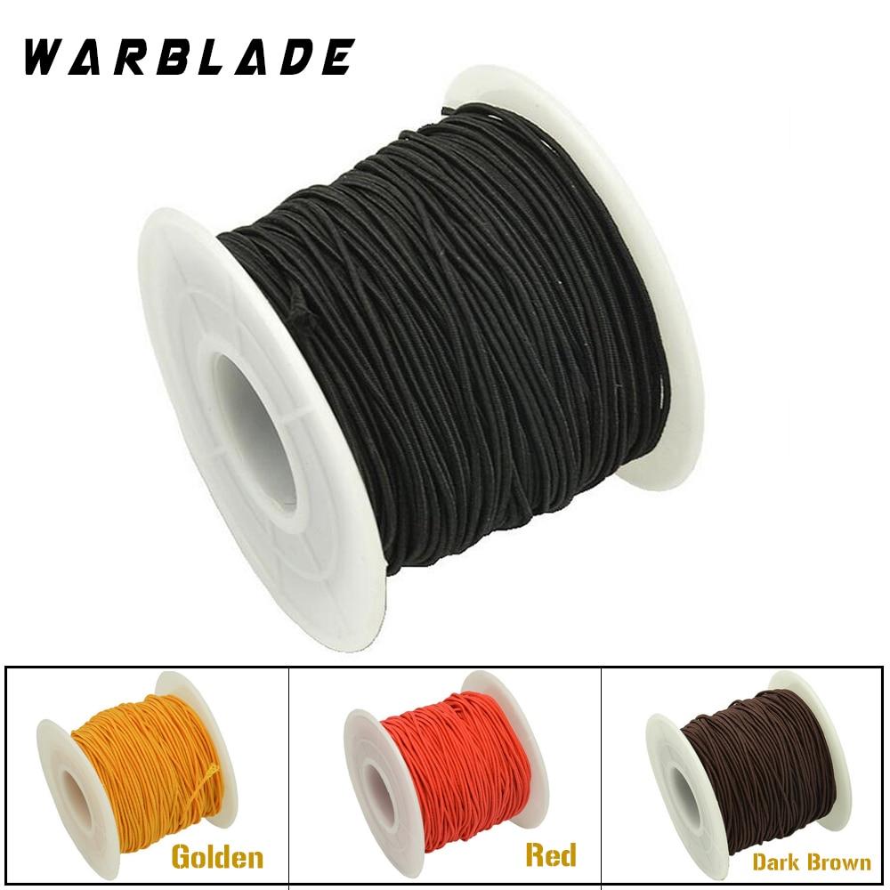 1mm Black Elastic Cord Beading Thread Stretch String for Bracelet Making