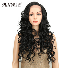 Noble High Temperature Fiber 28 Inch Side Part Long Loose Wa