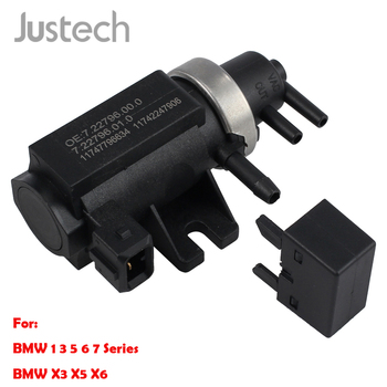Justech Solenoid Valve For BMW 1 3 5 6 7Series X3 X5 X6 Turbo Pressure Boost Control Solenoid EGR Valve 7.22796.00.0 11747796634 image
