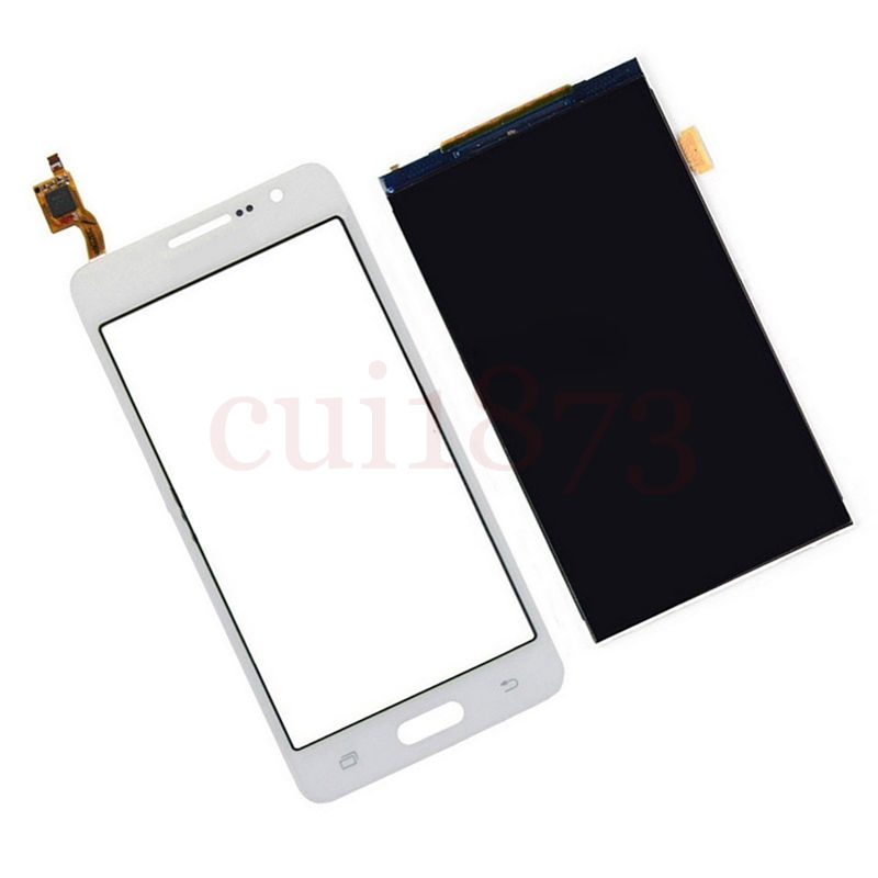 Replacement Touch Screen Digitizer Glass Sensor + LCD Display Panel Screen For Samsung Galaxy Grand Prime SM-G530H White