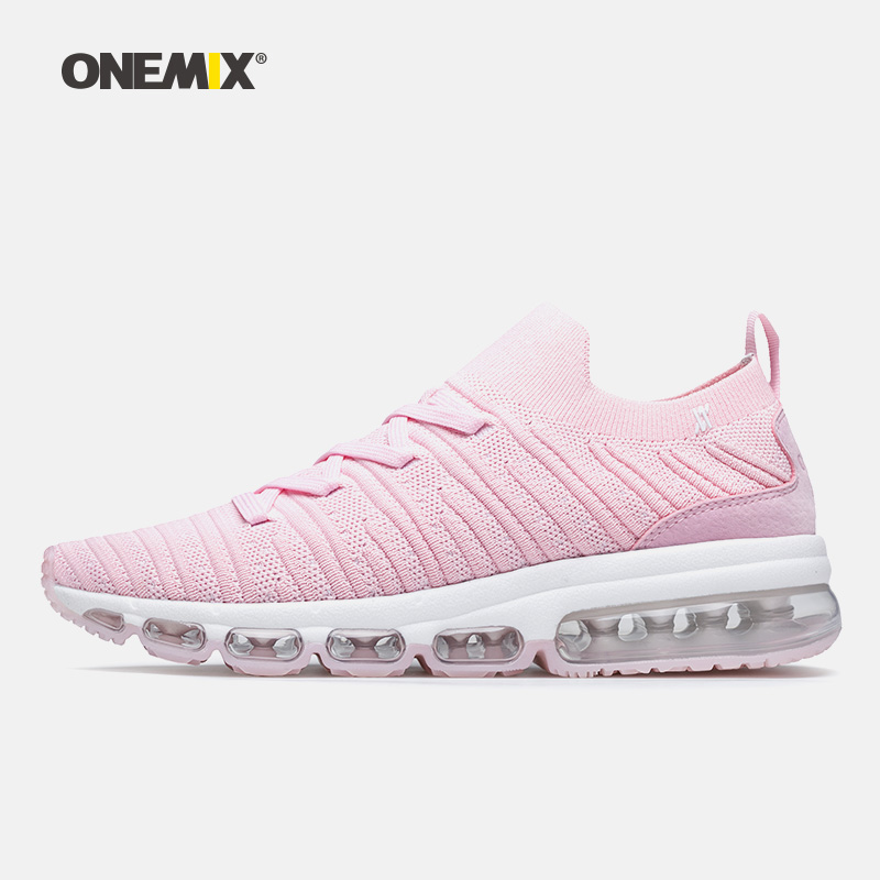 ONEMIX Women Sports Shoes Summer 2018 Spring Women Shoes Fashion sock-Shoes light cool outdoor sneakers Breathable Lace-Up Shoe pinsen fashion women shoes summer breathable lace up casual shoes big size 35 42 light comfort light weight air mesh women flats